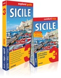 Collectif - Sicile - Guide + Atlas + Carte routière.