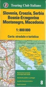 Collectif - Slovanie, Croazia, Serbia, Bosnia-Erzegovina.