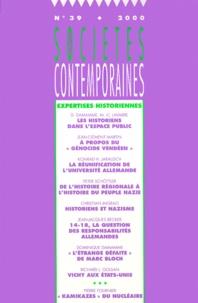 Era-circus.be Sociétés contemporaines N° 39/2000. Expertises historiennes Image