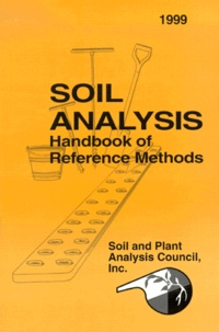 Histoiresdenlire.be SOIL ANALYSIS. Handbook of Reference Methods, Edition 1999 Image