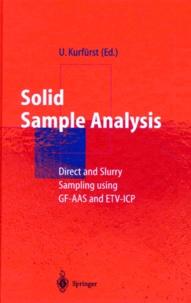 SOLID SAMPLE ANALYSIS.- Edition anglaise