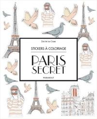 Collectif - Stickers à colorier Paris.