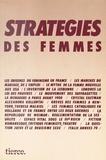 Collectif - Stratégies des femmes.