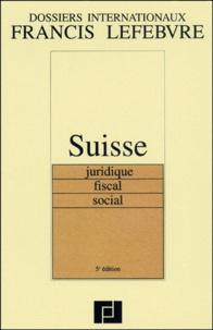 Galabria.be Suisse juridique, fiscal, social. 5ème édition Image