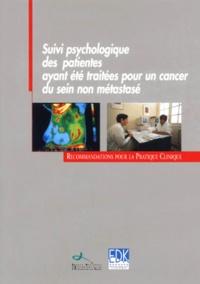 Controlasmaweek.it Suivi psychologique des patientes ayant été traitées pour un cancer du sein non métastasé Image