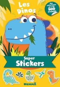 Collectif - Super stickers - Les dinos.