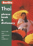Collectif - Thai. - Phrase Book and Dictionary, 7th Edition.