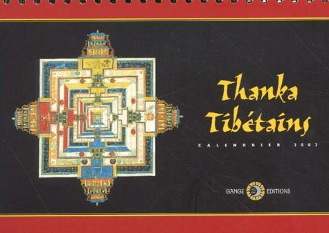 Collectif - Thanka tibétains - Calendrier 2002.