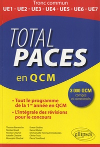 Collectif - Total PACES en 3000 QCM - Tout le programme de la 1re année en QCM.
