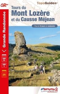 Collectif - Tour du Mont-Lozère et du Causse Méjean - réf 631.