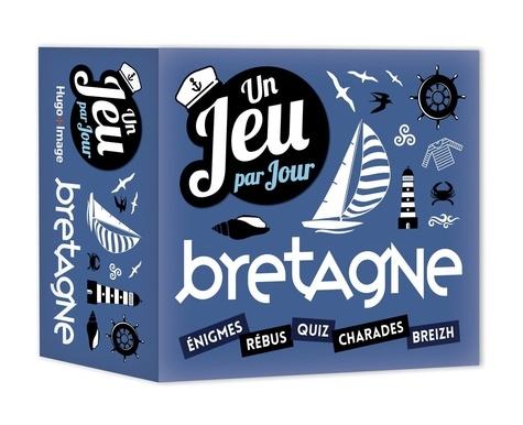 Collectif - Un jeu par jour Bretagne 2019 - Enigmes - Rébus - Quiz - Charades - Breizh.
