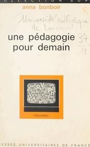 Collectif et  Laboratoire de psychométrie de - Une pédagogie pour demain.