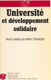 Collectif - Université et développement solidaire....