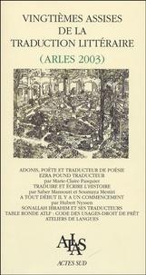 Vingtièmes assises de la traduction littéraire - Arles 2003.pdf