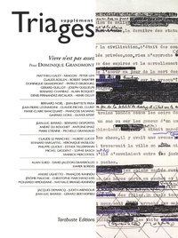 Vivre nest pas assez - Supplément Triages 2011 Pour Dominique Grandmont.pdf