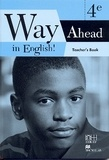 Collectif - Way ahead in english ! 4eme teacher's book cameroun.