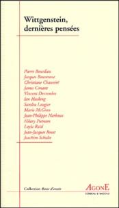 Collectif - Wittgenstein, dernières pensées.