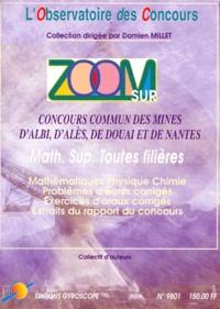 ZOOM SUR CONCOURS COMMUN DES MINES DALBI, DALES, DE DOUAI ET DE NANTES. Concours 1998.pdf