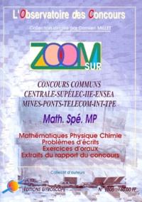 Goodtastepolice.fr ZOOM SUR CONCOURS COMMUNS CENTRALE-SUPELEC-IIE-ENSEA-MINES-PONTS-TELECOM-INT-TPE. Concours 1998, Option MP Image