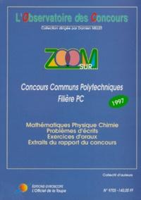 Accentsonline.fr ZOOM SUR CONCOURS COMMUNS POLYTECHNIQUES FILIERE PC. Concours 1997 Image