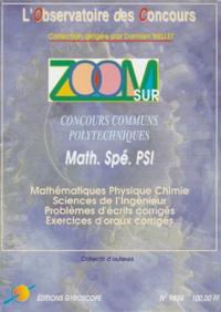 ZOOM SUR CONCOURS COMMUNS POLYTECHNIQUES. Concours 1998, Filière PSI.pdf
