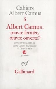 Collectifs - Albert Camus oeuvre N°5.