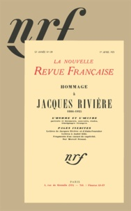 Collectifs - Hommage à Jacques Rivière.