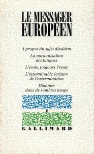 Collectifs - Le messager européen N4.