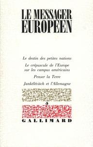 Collectifs - Le messager européen N5.