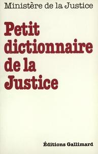 Collectifs - Le petit dico de justice.