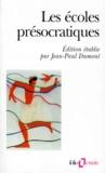 Collectifs et Jean-Paul Dumont - Les écoles présocratiques.