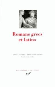 Collectifs - Romans grecs et latins.