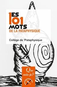 Deedr.fr Les 101 mots de la Pataphysique Image