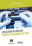 Collège Français de Métrologie - Application du nouveau concept d'étalonnage du VIM 3.