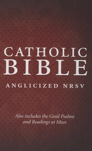 Collins - Catholic Bible - Anglicized New Revised Standard Version.