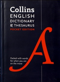 Deedr.fr Collins English Dictionary & Thesaurus - Pocket Edition Image