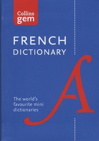 Collins - Collins Gem French Dictionary - Edition bilingue français-anglais / anglais-français.