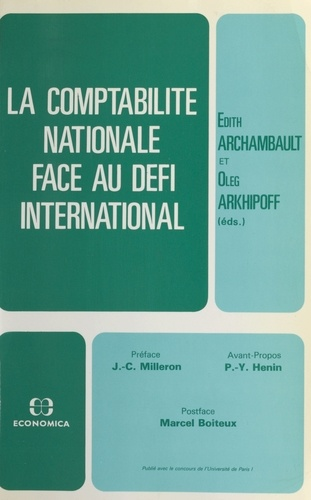 La comptabilité nationale face au défi international