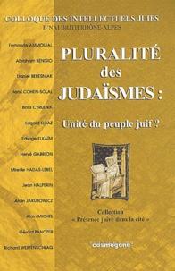 Colloque des intelle - Pluralité des judaïsmes : unité du peuple juif ? - 1er colloque des intellectuels juifs à Lyon, le dimanche 27 octobre 2002.