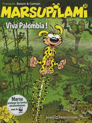 Colman et  Batem - Marsupilami Tome 20 : Viva Palombia !.