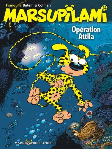 Colman et Luc Batem - Marsupilami Tome 24 : Opération Attila.