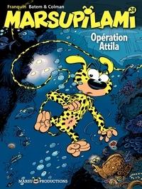 Colman et  Batem - Marsupilami Tome 24 : Opération Attila.