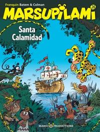 Colman et Luc Batem - Marsupilami Tome 26 : Santa Calamidad.