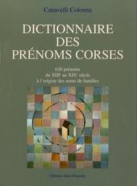 Histoiresdenlire.be Dictionnaires des prénoms corses - 630 prénoms, du XIIIe au XIXe siècle à l'origine des noms de familles Image