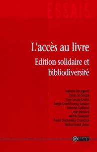 Colophon - L'accès au livre - Edition solidaire et bibliodiversité.