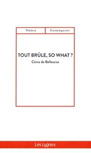 Côme de Bellescize - Tout brûle, so what ?.