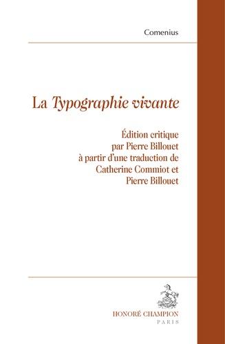 """Comenius - La """"Typographie vivante""""."""