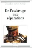 Comité Devoir de mémoire - De l'esclavage aux réparations.