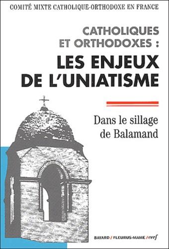 Comité mixte catho-orthodoxe - Catholiques et orthodoxes : les enjeux de l'uniatisme - Dans le sillage de Balamand.