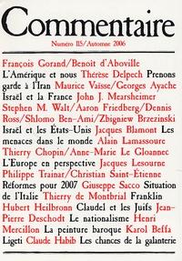 François Gorand et Benoît d' Aboville - Commentaire N° 115, Automne 2006 : .